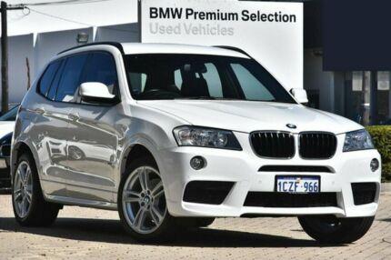 2013 BMW X3 F25 MY1112 xDrive20i Steptronic White 8 Speed Automatic Wagon Burswood Victoria Park Area Preview