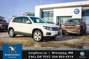 2013 Volkswagen Tiguan AWD Comfortline w/ Sport Pkg 0.99% Financ