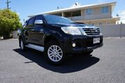 2014 Toyota Hilux KUN26R MY14 SR5 (4x4) Eclipse Black 5 Speed Automatic Dual Cab Pick-up Dalby Dalby Area Preview