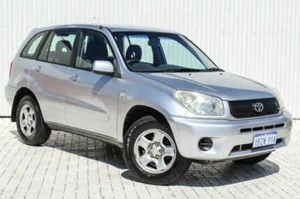 2005 Toyota RAV4 ACA23R CV Silver 4 Speed Automatic Wagon Embleton Bayswater Area Preview