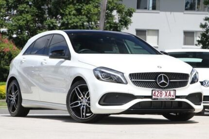 2016 Mercedes-Benz A180 W176 807MY D-CT White 7 Speed Sports Automatic Dual Clutch Hatchback