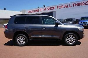2015 Toyota Landcruiser VDJ200R Sahara White 6 Speed Sports Automatic Wagon Westminster Stirling Area Preview