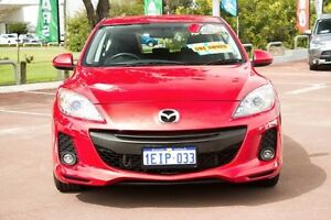 2012 Mazda 3 BL10F2 Maxx Sport Red 6 Speed Manual Hatchback Cannington Canning Area Preview