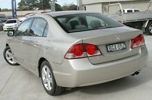 2008 Honda Civic 8th Gen MY08 VTi-L Gold 5 Speed Automatic Sedan Pennant Hills Hornsby Area Preview
