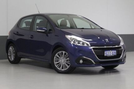 2017 Peugeot 208 MY17 Active Blue 6 Speed Automatic Hatchback