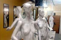 MANNEQUINS ~ EXOTIQUE ~ STYLE ART DÉCO ~ COMPLET / FULL BODY