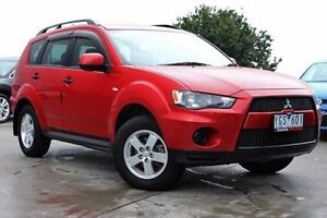 2011 Mitsubishi Outlander ZH MY11 LS Red 6 Speed Constant Variable Wagon Nunawading Whitehorse Area Preview