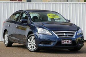 2014 Nissan Pulsar B17 ST Blue 1 Speed Constant Variable Sedan Chermside Brisbane North East Preview