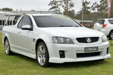 2009 Holden Commodore VE MY09.5 SV6 White 5 Speed Automatic Utility