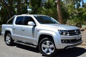 2013 Volkswagen Amarok 2H MY13 TDI400 4Mot Ultimate Silver 6 Speed Manual Utility St Marys Mitcham Area Preview