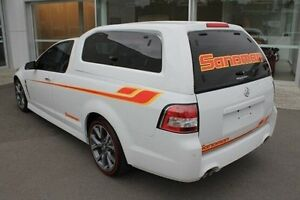 2014 Holden Ute VF MY14 SS V Ute White 6 Speed Sports Automatic Utility Mount Gravatt Brisbane South East Preview