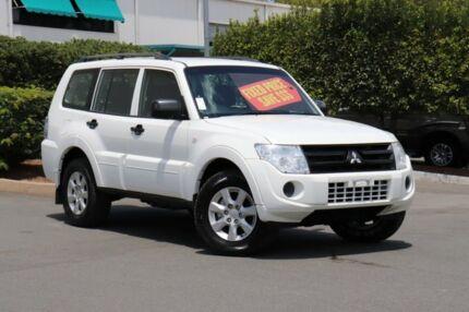 2014 Mitsubishi Pajero NW MY14 GLX White 5 Speed Manual Wagon Acacia Ridge Brisbane South West Preview