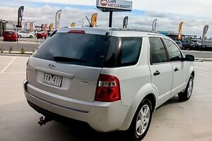 2009 Ford Territory SY TS AWD Silver 6 Speed Sports Automatic Wagon Pakenham Cardinia Area Preview