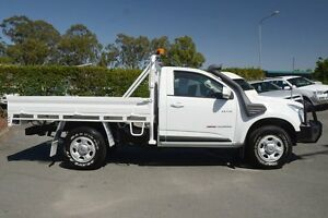 2012 Holden Colorado RG MY13 LX White 5 Speed Manual Cab Chassis Acacia Ridge Brisbane South West Preview