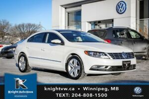 2014 Volkswagen CC w/ Leather/Sunroof/DSG 0.99% Financing Availa