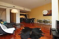 Furnished Luxury Condo for rent in Old Montreal