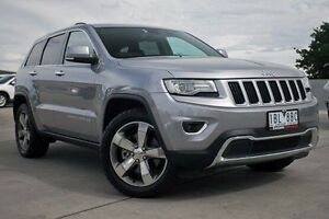 2014 Jeep Grand Cherokee WK MY2014 Limited Silver 8 Speed Sports Automatic Wagon Nunawading Whitehorse Area Preview
