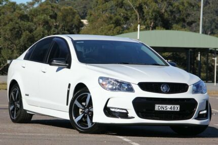 2016 Holden Commodore VF II MY16 SV6 Black White 6 Speed Sports Automatic Sedan West Gosford Gosford Area Preview