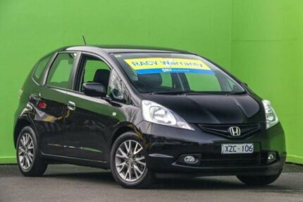 2010 Honda Jazz GE MY10 VTi Limited Edition Black 5 Speed Manual Hatchback Ringwood East Maroondah Area Preview