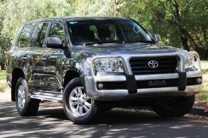 2010 Toyota Landcruiser VDJ200R MY10 GXL Grey 6 Speed Sports Automatic Wagon Hawthorn Mitcham Area Preview