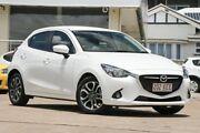 2015 Mazda 2 DJ2HA6 Genki SKYACTIV-MT White 6 Speed Manual Hatchback Moorooka Brisbane South West Preview