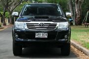 2014 Toyota Hilux KUN26R MY14 SR5 Double Cab Black 5 Speed Automatic Utility Hawthorn Mitcham Area Preview