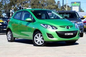 2011 Mazda 2 DE10Y1 MY11 Neo Green 4 Speed Automatic Hatchback Liverpool Liverpool Area Preview