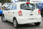 2011 Nissan Micra K13 ST White 4 Speed Automatic Hatchback Wangara Wanneroo Area Preview