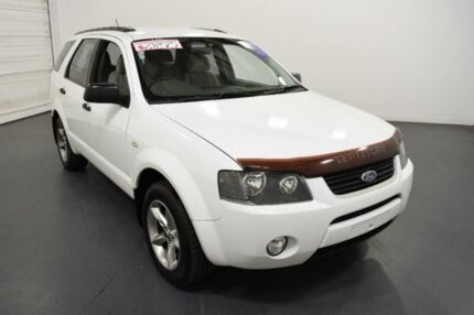 2005 Ford Territory SX TX (4x4) White 4 Speed Auto Seq Sportshift Wagon Moorabbin Kingston Area Preview