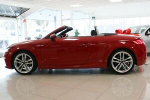2015 Audi TT FV MY16 S S tronic quattro Red 6 Speed Sports Automatic Dual Clutch Coupe