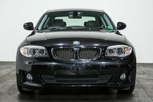 2013 BMW 125I E82 LCI MY1112 Steptronic Black 6 Speed Sports Automatic Coupe