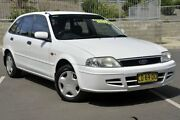 2002 Ford Laser KQ LXI White 4 Speed Automatic Hatchback Lisarow Gosford Area Preview