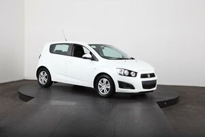 2015 Holden Barina TM MY15 CD White 6 Speed Automatic Hatchback McGraths Hill Hawkesbury Area Preview