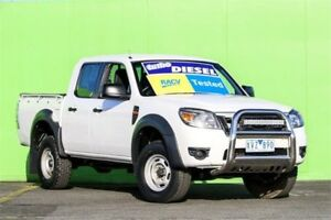 2010 Ford Ranger PK XL Super Cab 4x2 Hi-Rider White 5 Speed Manual Utility Ringwood East Maroondah Area Preview