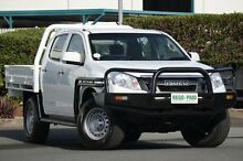 2012 Isuzu D-MAX MY12 SX Crew Cab Alpine White 5 Speed Manual Cab Chassis Acacia Ridge Brisbane South West Preview