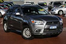 2011 Mitsubishi ASX XA MY11 (2WD) Titanium Grey 6 Speed Constant Variable Wagon Cannington Canning Area Preview