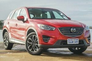 2016 Mazda CX-5 KE1032 Akera SKYACTIV-Drive i-ACTIV AWD Red 6 Speed Sports Automatic Wagon Bunbury Bunbury Area Preview
