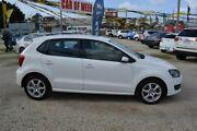 2010 Volkswagen Polo 6R COMFORTLINE MY11 White 7 Speed Automatic Hatchback Wendouree Ballarat City Preview
