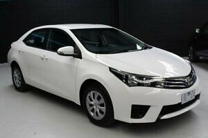 2014 Toyota Corolla ZRE172R Ascent White Constant Variable Sedan Knoxfield Knox Area Preview