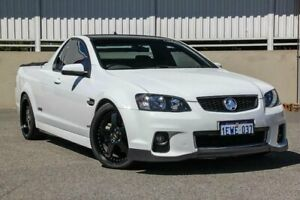 2012 Holden Commodore VE II MY12 SS White 6 Speed Manual Utility
