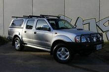2010 Nissan Navara D22 MY2010 ST-R Silver 5 Speed Manual Utility Derwent Park Glenorchy Area Preview
