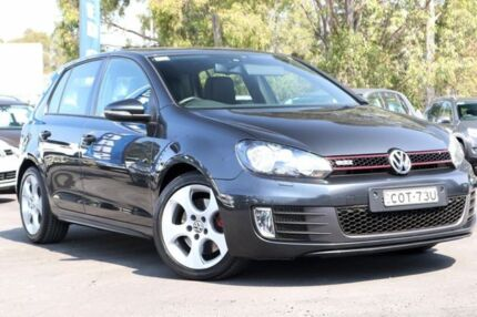 2012 Volkswagen Golf VI MY12.5 GTI DSG Grey 6 Speed Sports Automatic Dual Clutch Hatchback