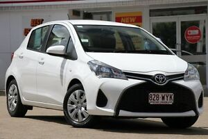 2015 Toyota Yaris NCP130R Ascent Glacier 5 Speed Manual Hatchback Woolloongabba Brisbane South West Preview
