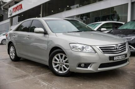 2009 Toyota Aurion GSV40R MY10 Prodigy Silver 6 Speed Sports Automatic Sedan Castle Hill The Hills District Preview