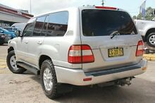 2006 Toyota Landcruiser UZJ100R Upgrade Sahara (4x4) Silver 5 Speed Automatic Wagon Arncliffe Rockdale Area Preview