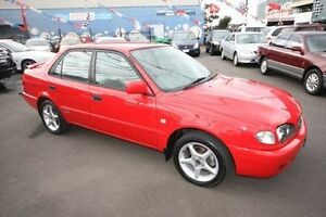 2000 Toyota Corolla AE112R Conquest Red 4 Speed Automatic Sedan Kingsville Maribyrnong Area Preview