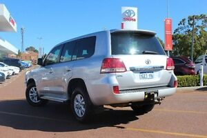 2011 Toyota Landcruiser VDJ200R MY10 GXL Silver 6 Speed Sports Automatic Wagon Westminster Stirling Area Preview
