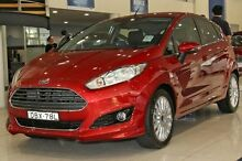 2015 Ford Fiesta  Red Sports Automatic Dual Clutch Hatchback Zetland Inner Sydney Preview