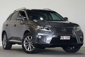 2012 Lexus RX350 GGL15R MY12 Sports Luxury Grey 6 Speed Automatic Wagon Coopers Plains Brisbane South West Preview