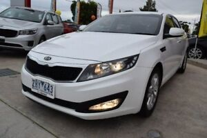 2012 Kia Optima TF MY12 SI White 6 Speed Sports Automatic Sedan